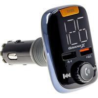 FM-трансмиттер Grand-X 97GRX MegaBass Bluetooth V5.0 Hands Free QC 3.0 UA UCRF