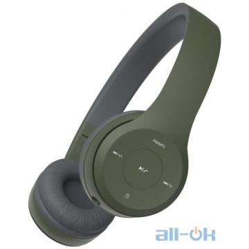Наушники с микрофоном Havit HV-H2575BT Green UA UCRF