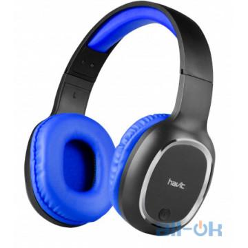 Наушники с микрофоном Havit HV-H2590BT Blue UA UCRF