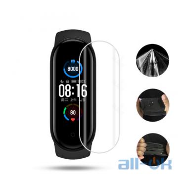 Гидрогелевая противоударная глянцевая пленка для Xiaomi Mi Smart Band 5