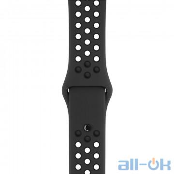 Ремешок Apple Anthracite/Black Nike Sport Band для Watch 38mm/40mm MQ2K2