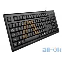 Клавіатура  A4Tech KRS-85 PS/2 UA UCRF