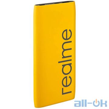 Внешний аккумулятор (Power Bank) Realme 10000mAh QC 18W Yellow RMA137 UA UCRF