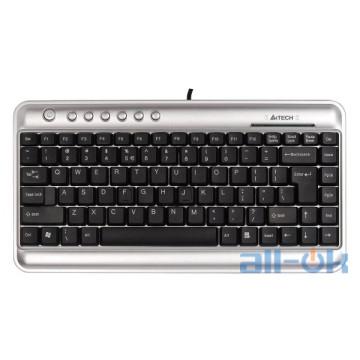 Клавиатура A4tech KL-5 Silver/Black USB UA UCRF