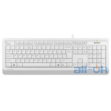 Клавиатура  A4Tech Fstyler FK10 White UA UCRF