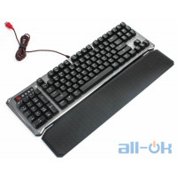 Клавиатура  A4-Tech Bloody B845R Gun Black UA UCRF
