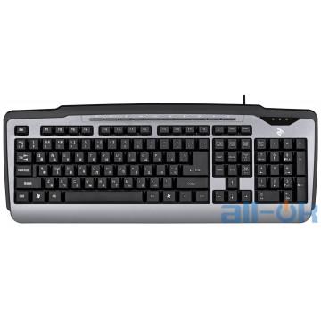 Клавиатура 2E KM1010 USB Gray (2E-KM1010UB) UA UCRF