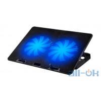 Охлаждающая подставка для ноутбука ProLogix DCX-A101(033) no controller Black