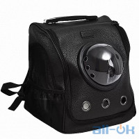 Переноска-рюкзак для тварин Xiaomi Small Animal Star Space Capsule Shoulder Bag (Black)
