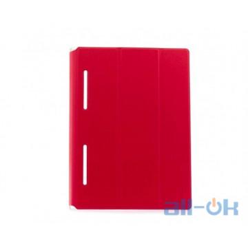 Кожаный чехол-книжка TTX Elegant Series для Lenovo Yoga Tablet 3-X50 10 (Красный)