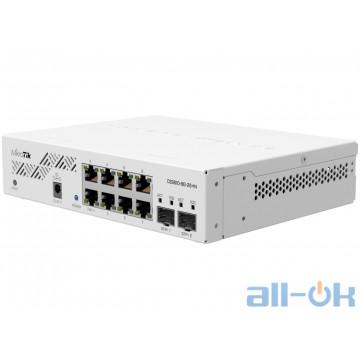 Коммутатор MikroTik CSS610-8G-2S+IN UA UCRF