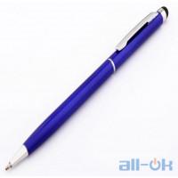 Универсальный емкостный стилус- шариковая ручка Stylus pen Dark Blue