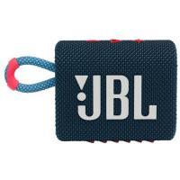 Портативные колонки JBL Go 3 Blue Coral (GO3BLUP)