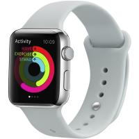 Ремешок UWatch Silicone Strap для Apple Watch 38/40 mm Soft White