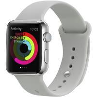 Ремешок UWatch Silicone Strap для Apple Watch 38/40 mm Stone