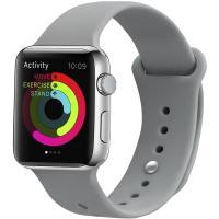 Ремешок UWatch Silicone Strap для Apple Watch 38/40 mm Concrete