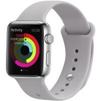 Ремешок UWatch Silicone Strap для Apple Watch 38/40 mm  Lavender