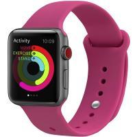 Ремешок UWatch Silicone Strap для Apple Watch 42/44 mm  Bobbi Powder