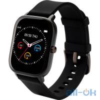Смарт- годинник Globex Smart Watch Me Black UA UCRF