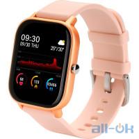 Смарт- годинник Globex Smart Watch Me Gold UA UCRF