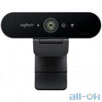 Веб-камера Logitech BRIO 4K Stream Edition (960-001194) UA UCRF