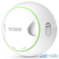 Інтерактивна іграшка з витоком корму Xiaomi Petgeek Automatic Ball Pet Toys Rolling White (K90759K)