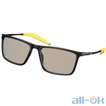Защитные очки 2Е Gaming Anti-blue Glasses Black/Yellow (2E-GLS310BY)