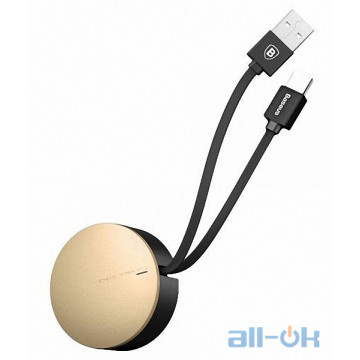 Кабель USB Type-C Baseus New Era Type-C 2A 0.9m Gold (CALEP-C0V)