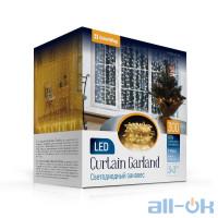 Гірлянда-штора ColorWay 300 LED 3x3 м 220В (CW-GW-300L33V)