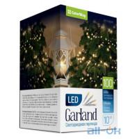 Лінійна гірлянда ColorWay 100 LED 10 м 8 функцій (CW-G-100L10V)