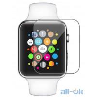 Гидрогелевая противоударная глянцевая пленка для Apple Watch  SE 40mm