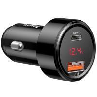 Автомобильное зарядное устройство Baseus Magic Series PPS Type-C PD Plus USB QC4,0 2USB Black (CCMLC20C-01)