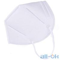 Захисна маска для обличчя KN 90 10 шт. White