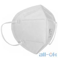 Захисна маска для обличчя KN 95 10 шт. White
