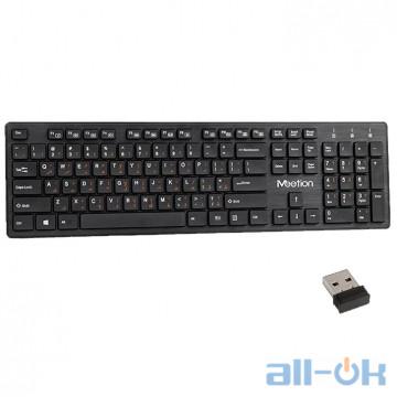 Беспроводная клавиатура Meetion MT-WK841 Black