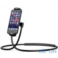 Держатель для смартфона Baseus Holder Necklace Lazy Bracket Black (SUJG-LR01)