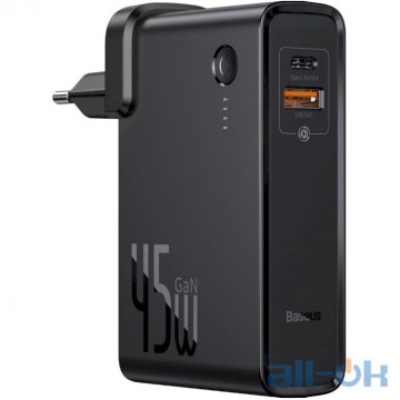Внешний аккумулятор (Power Bank) Baseus Power Station 2-in-1 Quick Charger Black (PPNLD-C01)