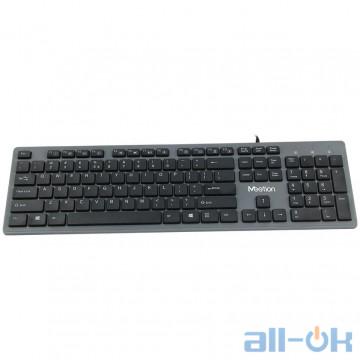 Клавиатура Meetion USB Standard Chocolate Ultrathin Keyboard K841 |RU/EN раскладки| (Black)