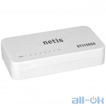 Коммутатор неуправляемый NETIS SYSTEMS ST3108GS UA UCRF