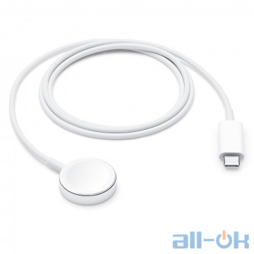 Беспроводное зарядное устройство для смарт-часов Apple Watch Magnetic Charging to USB-C Cable 1m (MX2H2)