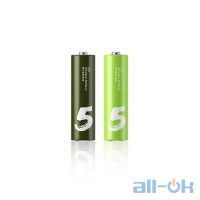 Батарейка ZMI AA bat Alkaline 2шт ZI5 Rainbow (NQD4000RT2)