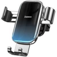 Автомобильный держатель для смартфона Baseus Glaze Gravity Car Black (SUYL-LG01)