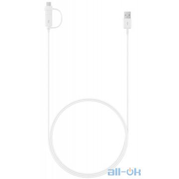 Кабель Micro USB/USB Type-C Samsung USB Combo Type-C & Micro-USB 1.5m (EP-DG930DWEGRU)
