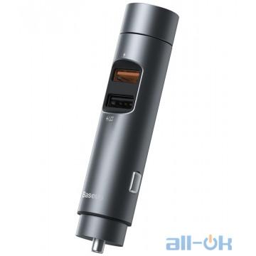 FM-трансмиттер Baseus Energy Column Car Wireless MP3 Charger CCNLZ-C0G