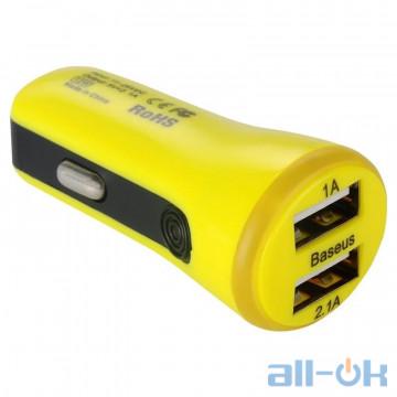Автомобильное зарядное устройство Baseus Tiny Yellow