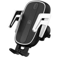 Автомобильный держатель для смартфона Usams US-CD100 Automatic Touch Induction (Air Vent) Black-Silver