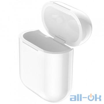 Кейс-зарядка QI Hoco CW18 для Apple AirPods White