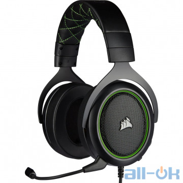 Компьютерная гарнитура Corsair HS50 Pro Stereo Gaming Headset Green (CA-9011216-EU) UA UCRF