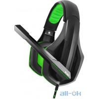 Комп'ютерна гарнітура Gemix X-350 Black/Green UA UCRF