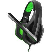 Компьютерная гарнитура  Gemix X-350 Black/Green UA UCRF